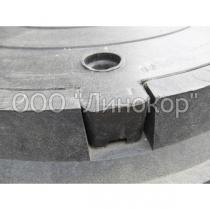 Люк средний полимерпесчаный B(125)